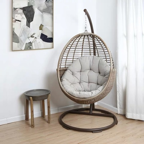 New Design Rattan Garden furniture Wicker Swing Chair Hanging .