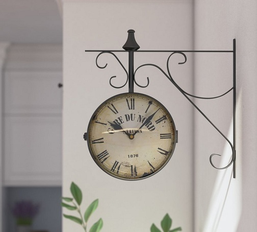 15 Best Hanging Wall Clock Designs With Images | Styles At Li