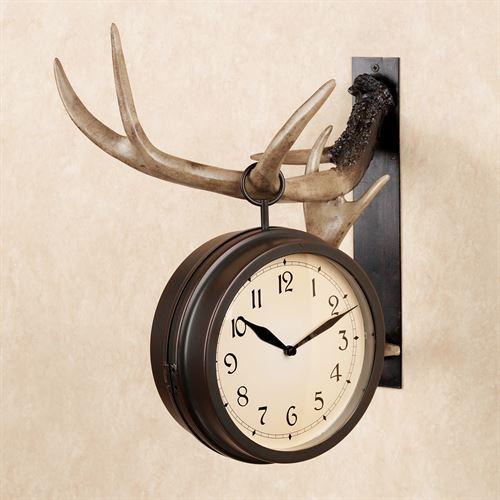 Buckley Resin Deer Antler Rustic Hanging Wall Clo