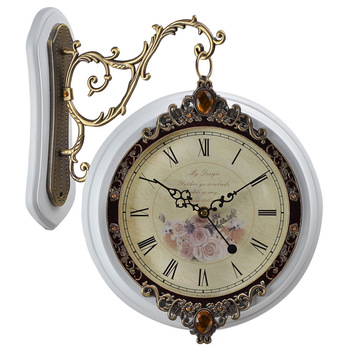 Antique Double Sided Hanging Wall Clock - Buy Double Sided Hanging .