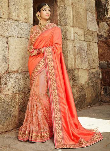 Wedding Wear Designer Heavy Work Sarees Wholesale at Rs 2796/piece .