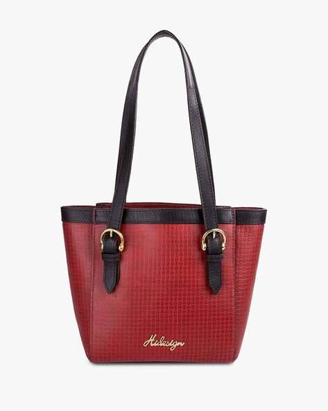 Buy Red Handbags for Women by HIDESIGN Online | Ajio.c