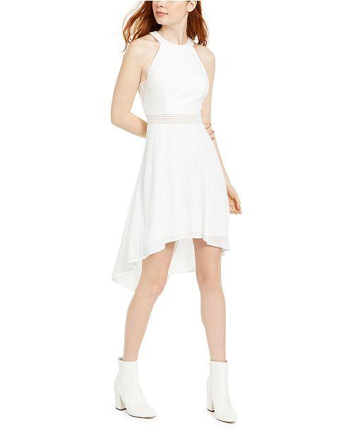 City Studios Juniors' Halter High-Low Dress & Reviews - Dresses .