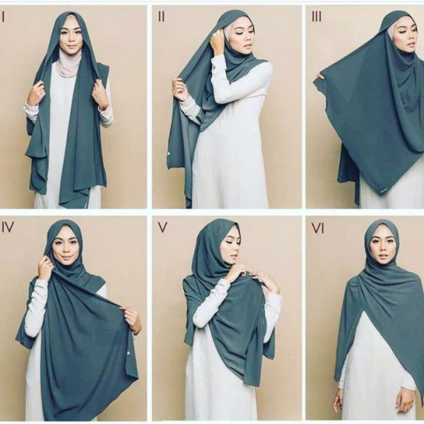 How To Wear Hijab-18 Hijab Tutorials & Styles To Try In 20