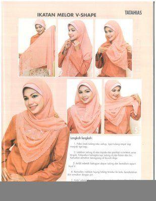 Malaysian Hijab Styles | Hijab fashion, Hijab, Hijab tutori