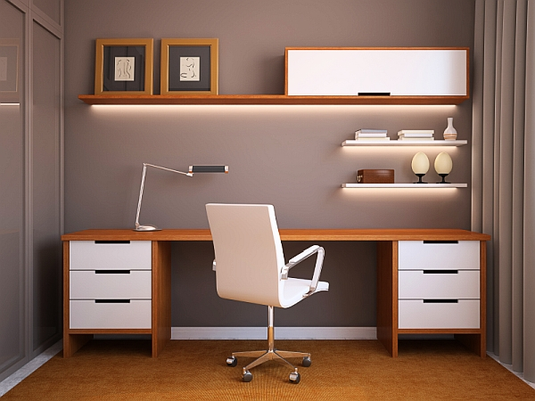 24 Minimalist Home Office Design Ideas For a Trendy Working Spa