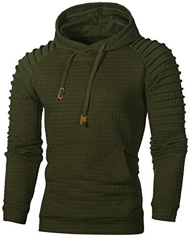 Men Hoodies Pullover, Vickyleb Men's Fashion Workout Sweatshirts .