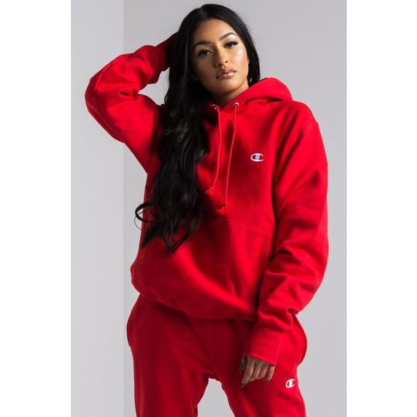Champion Women's Reverse Weave Pullover Hoodie ($55) ❤ liked on .