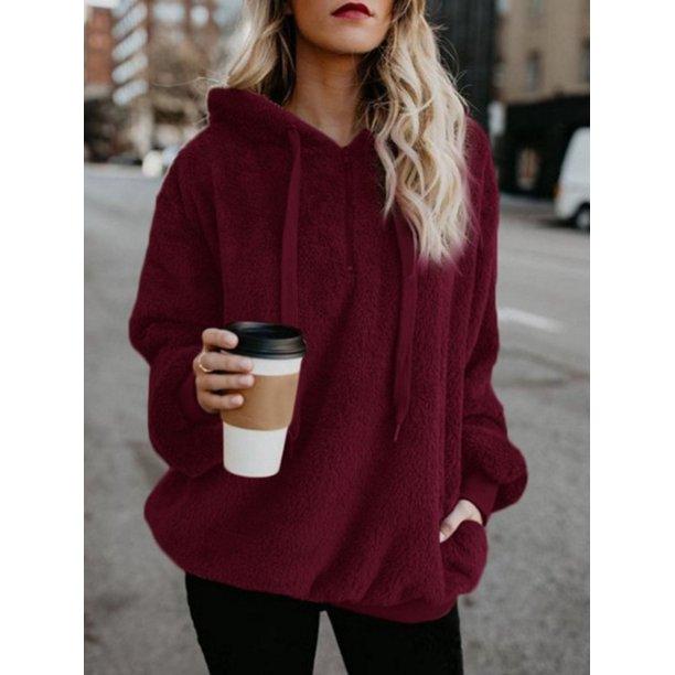 Topcobe - Women's Pullover Hoodie for Women, Long Sleeve Hooded .