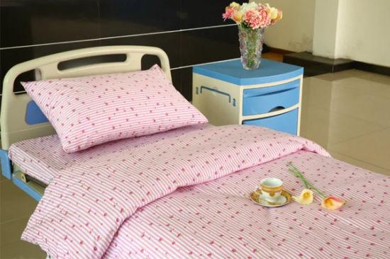 China Flower Design Cotton Hospital Bed Linen Set - China Hospital .