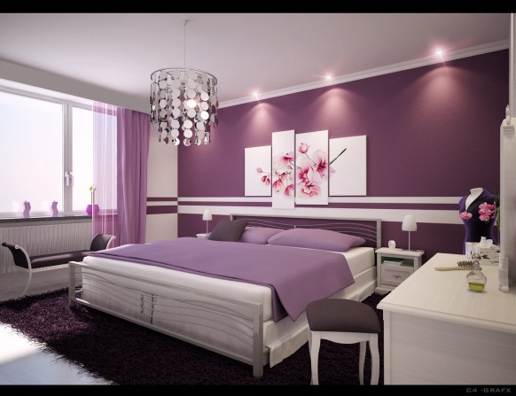 Bathrooms Models Ideas: How To Decorate Bedroom Wal