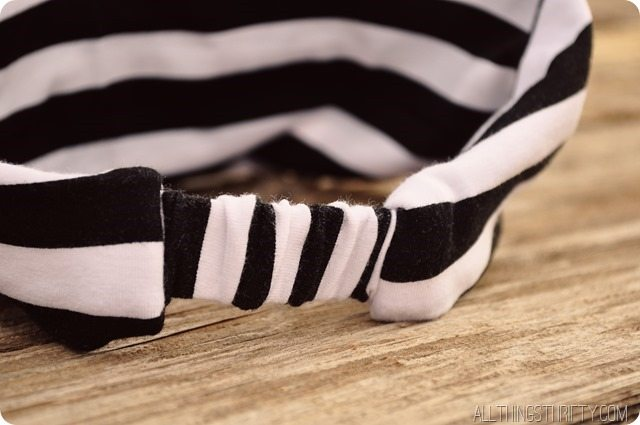 How to Make Jersey Headbands | All Things Thrif