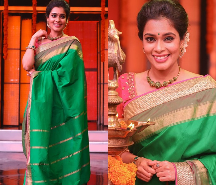 The Classic Accessory To Wear With Silk Saree • South India Jewe