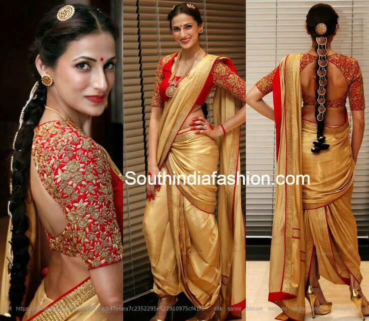 10 Interesting Ways to Drape a Wedding Saree: Try Them Now!