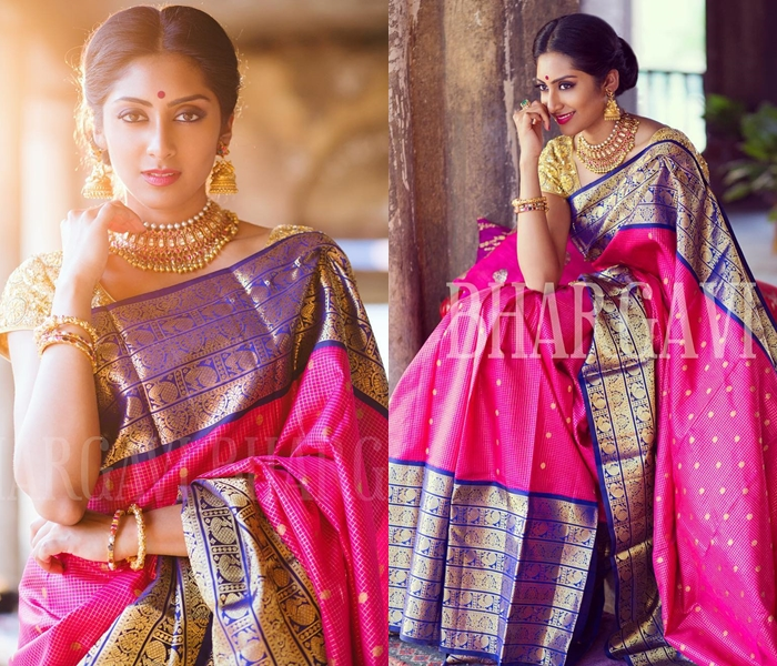 How To Wear A Silk Saree
