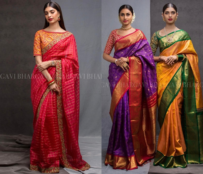 how-to-wear-silk-sarees-beautifully (2) • Keep Me Styli