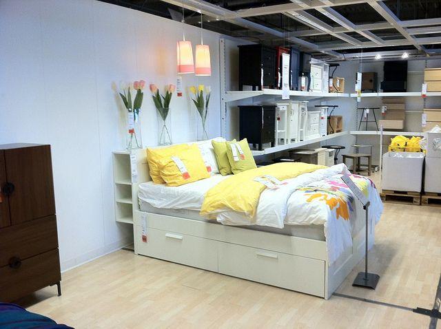 IKEA Brimnes bed (With images) | Brimnes bed, Home bedroom, B