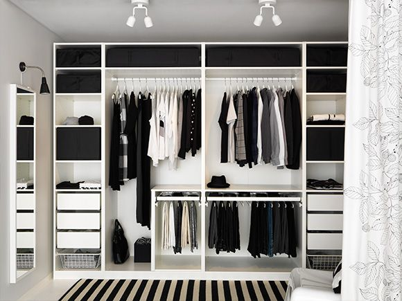 PAX Planner - IKEA (met afbeeldingen) | Inloopkast ikea .