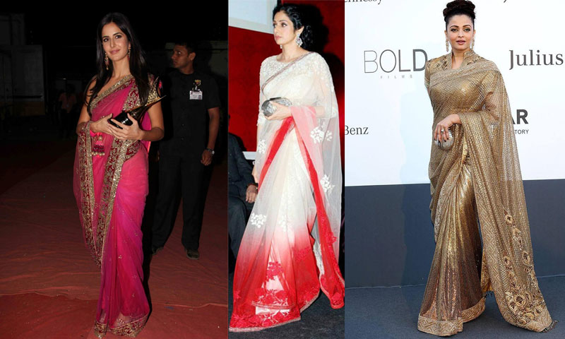 Most Trendy and Stylish Bollywood Designer Sarees You Can Wear .