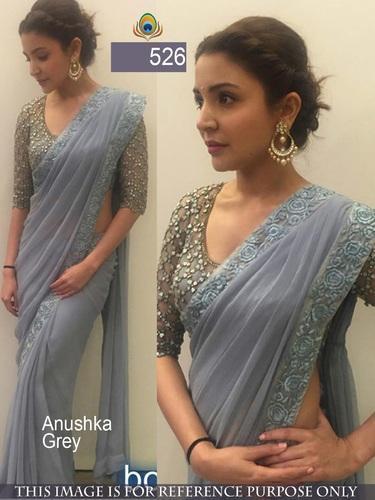 Silk Indian Fashion Bollywood Designer Sarees, Rs 800 /piece Jau .