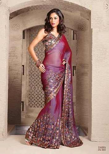Indian Designer Sarees, Party Wear Saree, फैंसी साड़ी in .