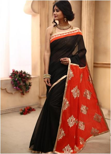 Buy Designer Sarees Online in India | Shop Latest Collection of .