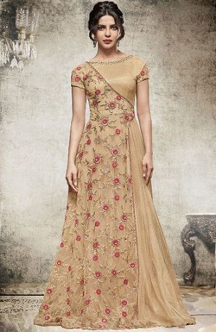 15 Traditional and Stylish Indian Frocks for Women in 2020 | Frock .