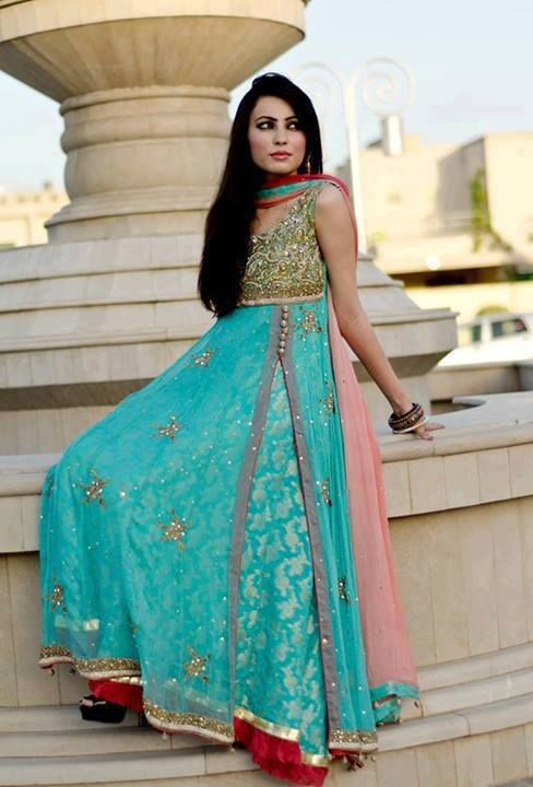 Indian Frock Designs 2014 - Indian Party Wear Collection | Party .