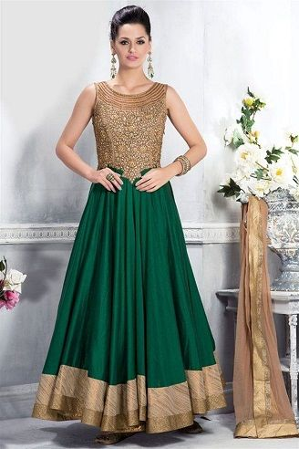 15 Traditional and Stylish Indian Frocks for Women in 2020 .