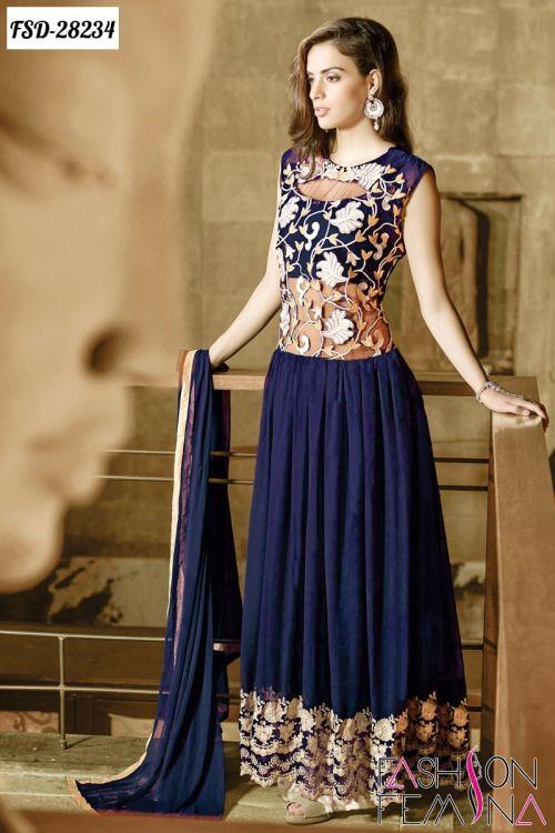 Trendy Or Elegance Indian Frocks Designs 2016 | Formal dresses .