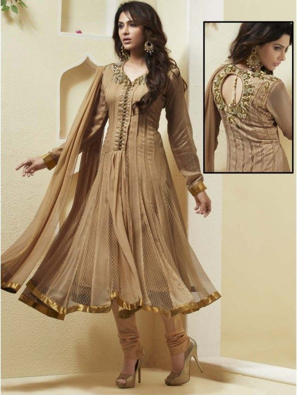 Latest Fancy New Style Indian Frock Suits Collection for Girls .