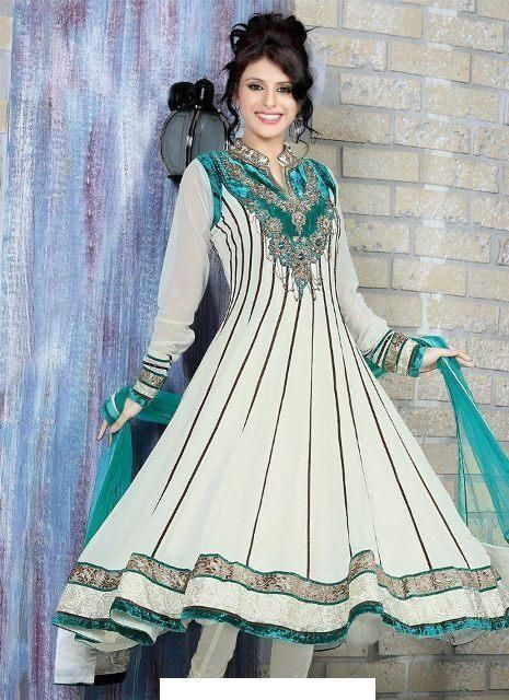 Indian Frock Designs 2014 - Indian Party Wear Collection (With .
