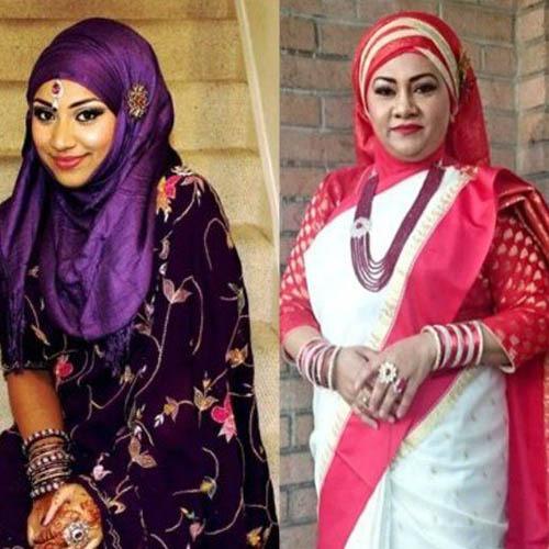 indian hijab style2 - Hijabi Fashio
