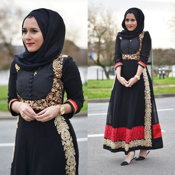 30 Ways to Wear Hijab with Indian Ethnic Wear Outfi