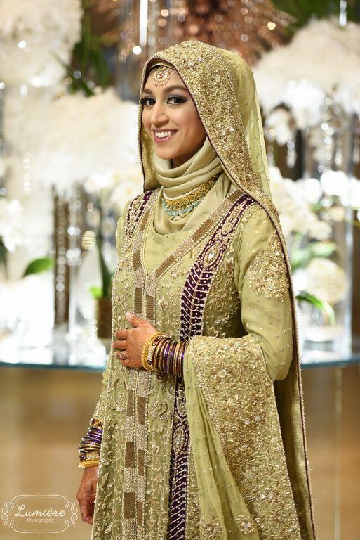 Afia Bhabi || Hijabi Bride || Indian Wedding mA | Bridal hijab .