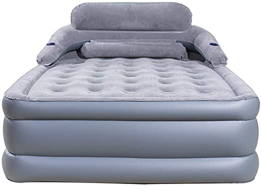 Amazon.com: Inflatable Beds Air Mattresses Three-Layer Household .