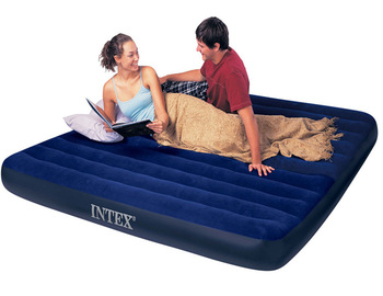 Intex 68757 Double Design Air Bed Inflatable Air Mattress With .