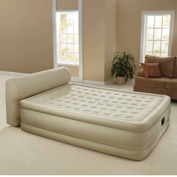 Inflatable Headboard Air Bed by Intex | Montgomery Wa