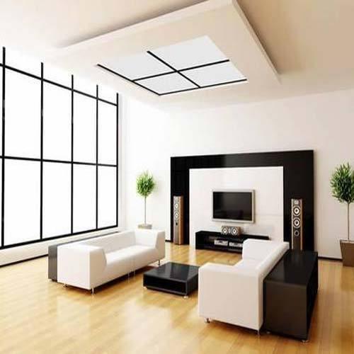 Living Hall Interior at Rs 200000/set(s) | flat interior designers .