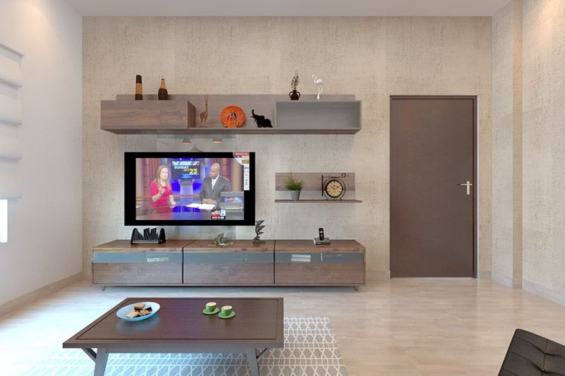 Simple Showcase Designs With Images For Hall   Design Ca