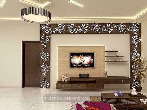 sujithliv3 | Living room tv unit designs, Living room tv unit, Tv .