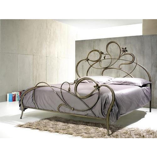 Wrought Iron Cherry Green Designer Bed, Rs 80000 /piece Alif .