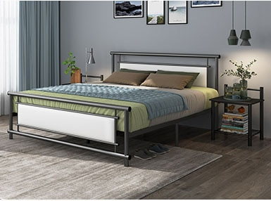 RAMA DYMASTY metal bed iron bed modern design bed/ fashion king .