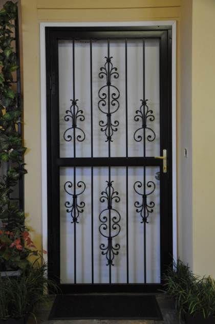 wrought iron doors designs   Iron door design, Iron doo
