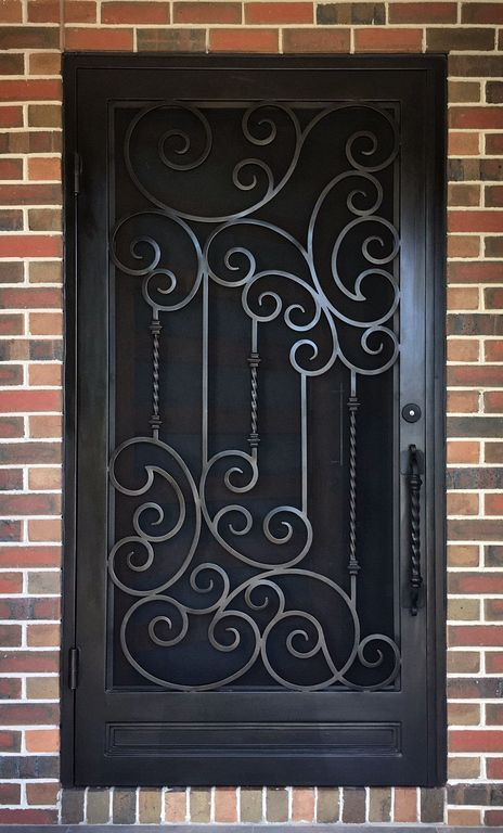 20+ Iron Security Door Ideas With Beautiful Design You Can Use For .