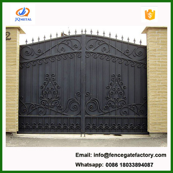 Affordable House Main Wrought Iron Gate Designs - Buy Sliding Iron .