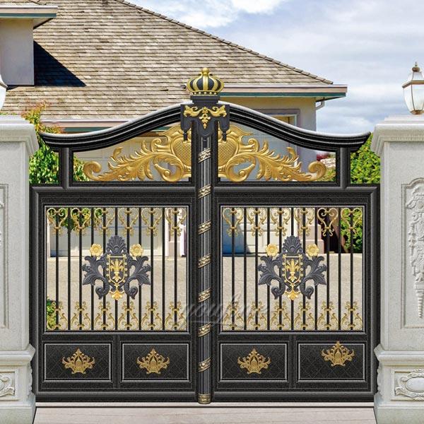 Modern Beautiful Sliding Wrought Driveway Iron Gate Design for .