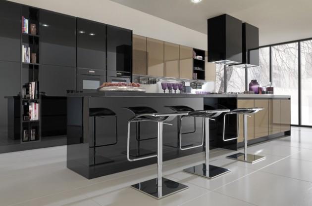 27 Classy Contemporary Italian Kitchen Design Ide