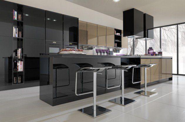 27 Classy Contemporary Italian Kitchen Design Ideas | Design de .