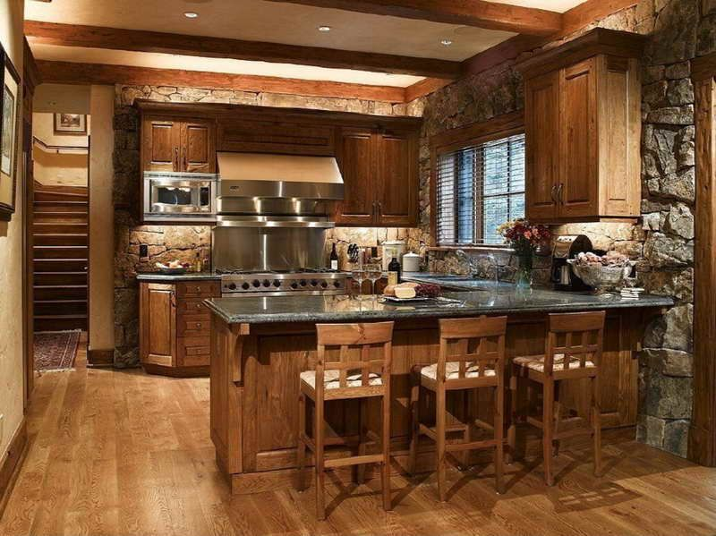 Rustic Italian Kitchen Designs for Warm and Soft Ambiance with .